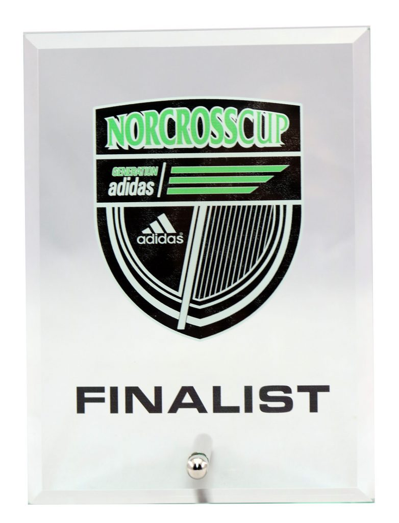 NORCROSSCUP PLAQUE UV PRINT