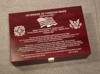 P MEMORIAL BOX