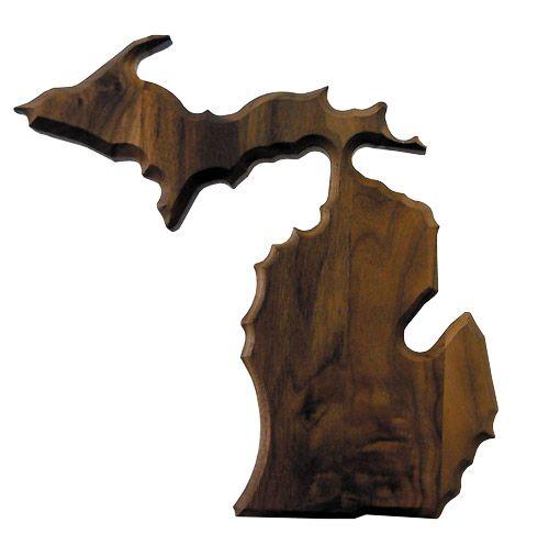 plaque-michigan-shape