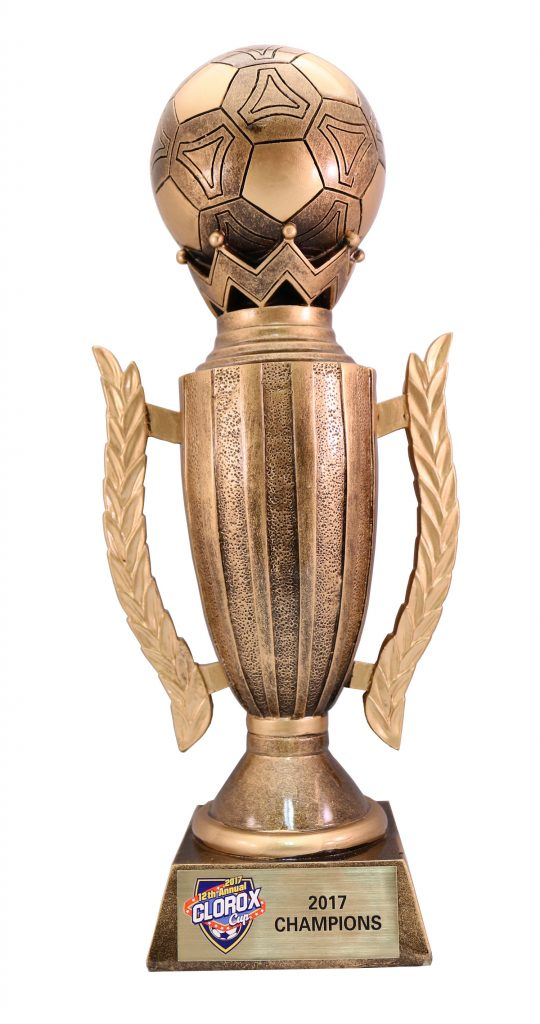 2017 CLOROX CUP TROPHY UVPRINT