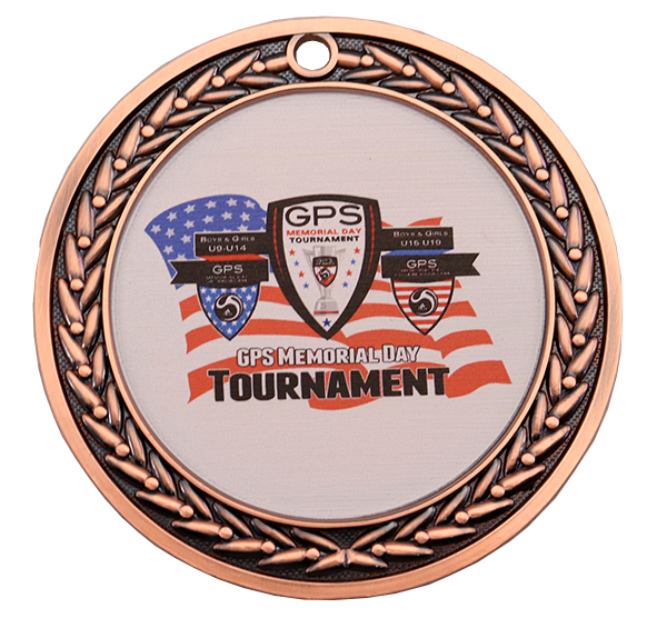 GPS MEMORIAL DAY MEDAL