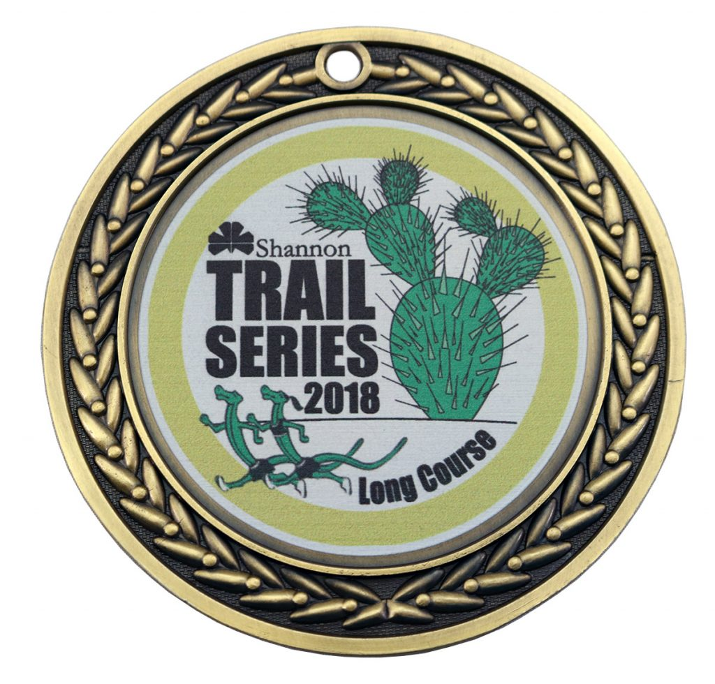 SHANNON TRIAL SERIES MEDAL UV PRINT