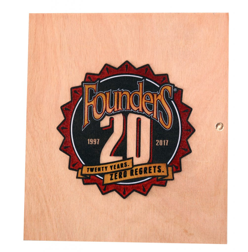 UV PRINT FOUNDERS LOGO WOOD PLAQUE
