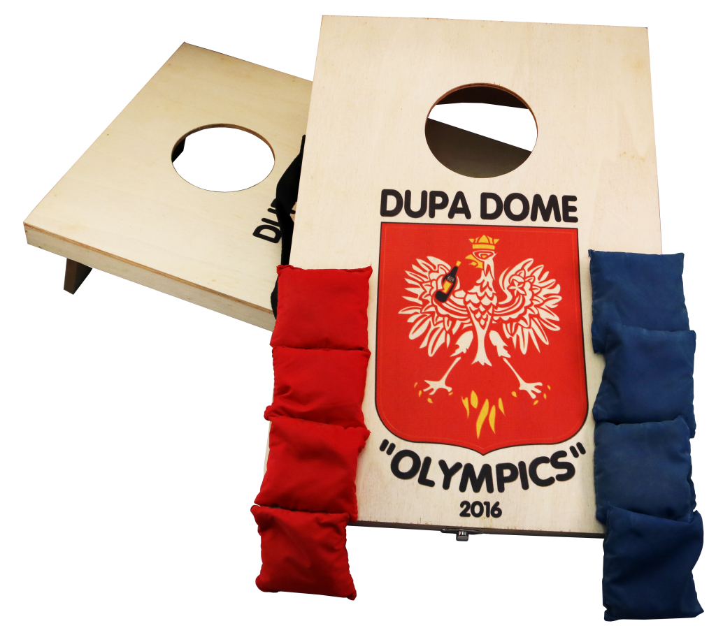 un print mini cornhole boards dupa dome