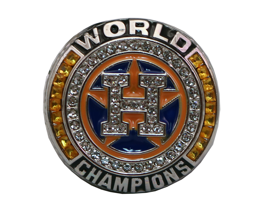 H WORLD CHAMPS RING