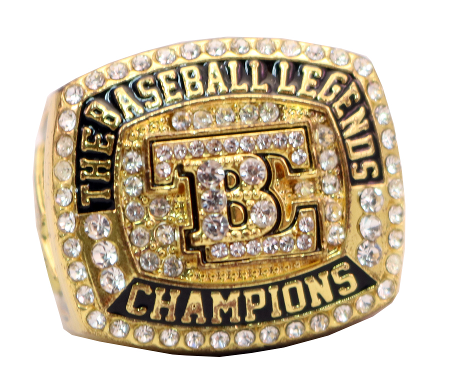 THE BASEBALL LEAGENDS CHAMPS RING 2