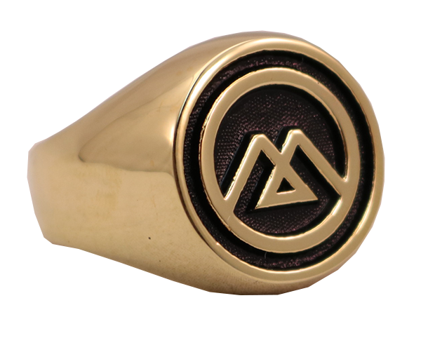 GOLD MOUNTAIN LOGO RING SIDE A